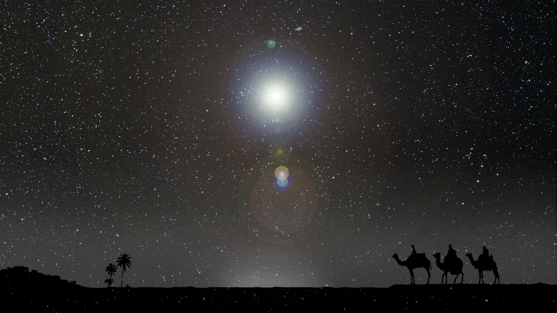 A betlehemi csillaghoz hasonló égi jelenség fog ragyogni az égbolton december 21-én!