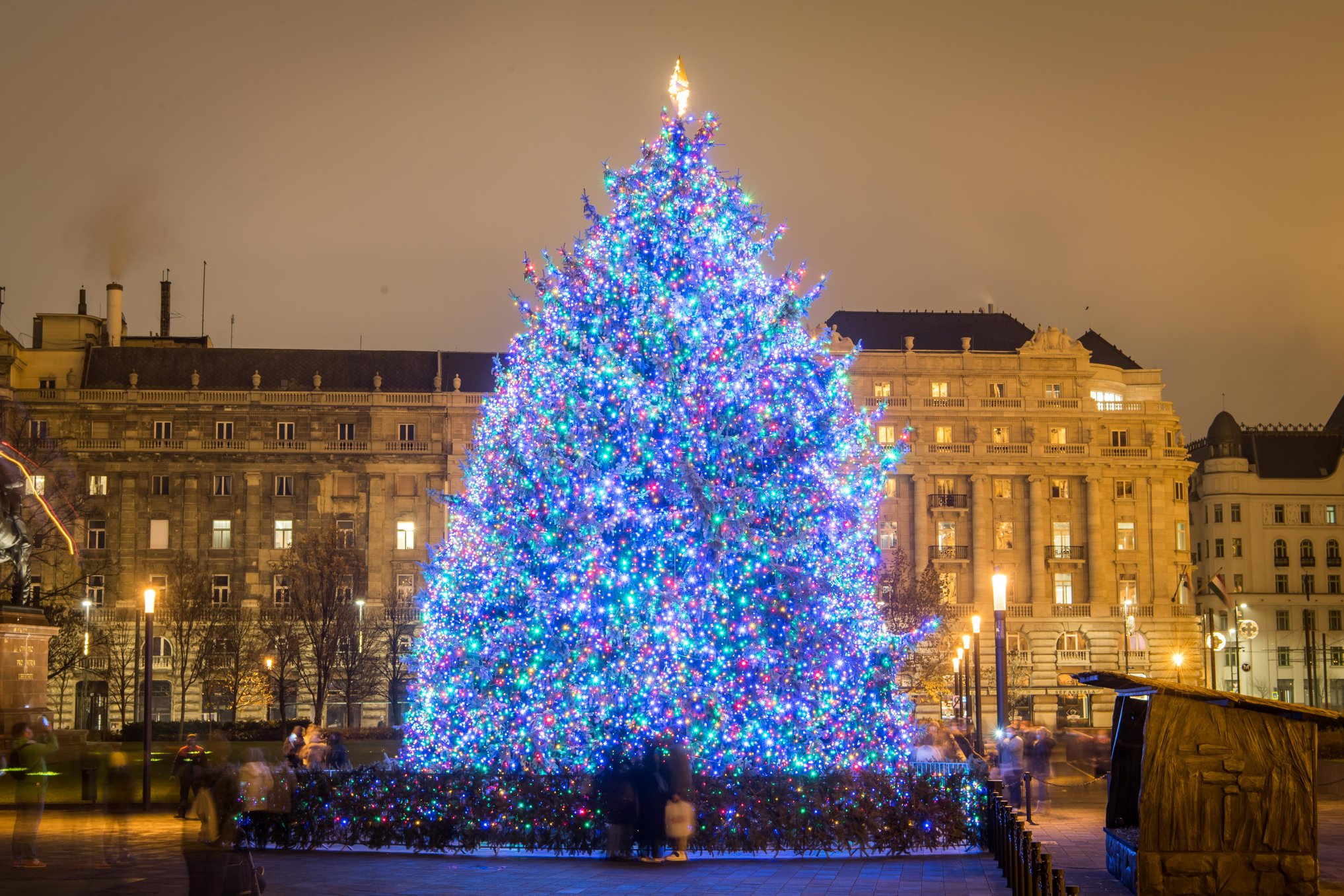 Lélegzetelállító lett az ország karácsonyfája