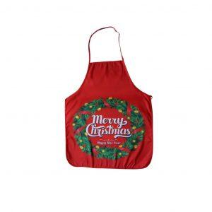 """""""Merry christmas"""" karácsonyi kötény"""