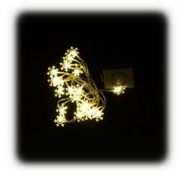 3 méteres karácsonyi fényfűzér