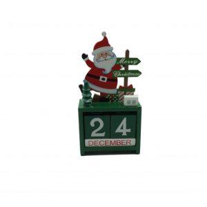 Mikulásmintás karácsonyi fa öröknaptár