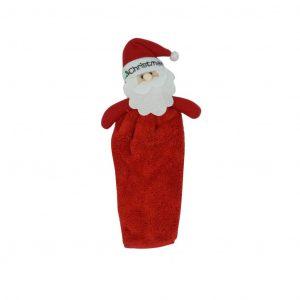 Mikulásos karácsonyi kéztörlő